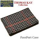 PENDLETON 「Thomas kay Collection」 PassPort Case GZ912 Horween Chromexcel Cowhide Leatherペンドルトン パスポート ケース カバー ホーウィーン クロムエクセル レザー ブラウン