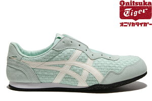 43c443890f5f Onitsuka Tiger SERRANO SLIP-ON D877N-8400 MIST GREEN CREAMオニツカタイガー セラーノ