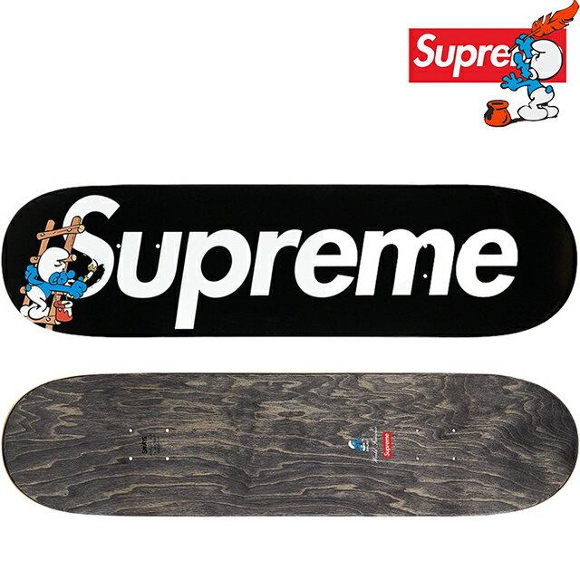 パーツ, デッキ SUPREME Smurfs Skateboard BOX LOGO BLACKSupreme DECK 2020AW