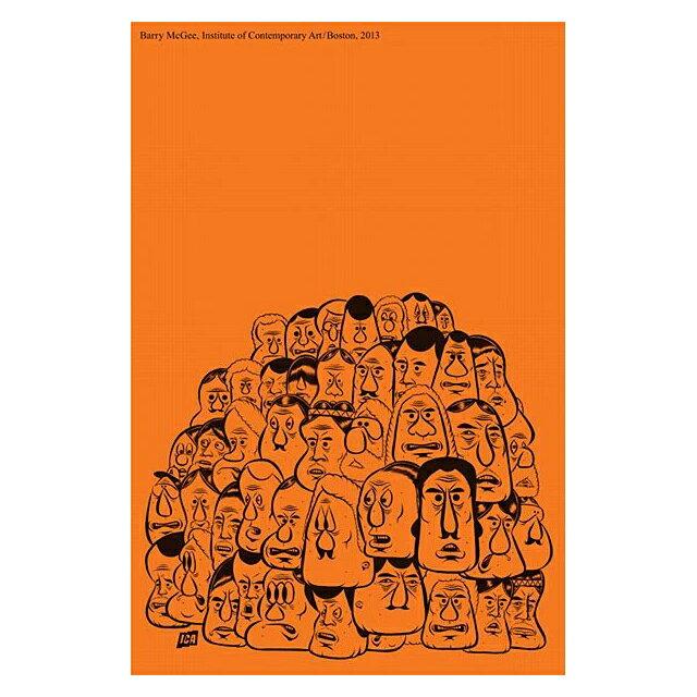 壁紙・装飾フィルム, アートパネル・アートボード Barry McGee 2013 Exhibition Art Poster 2013 TWIST