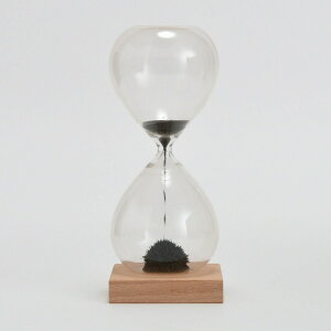 【セール価格】茶谷産業 Fun Science 砂時計 30秒計 マグネティックアート 磁石 砂鉄