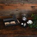 茶谷産業 Elementum ウォッチスタンド ブラック 黒 2本用 腕時計スタンド
