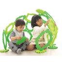 【アフターセール】クムタス 組み立て ハウス 葉っぱ おはな 立体パズル ブロック 秘密基地 シャオール 知育玩具 かたち遊び 3歳 子供 男の子 男 女の子 出産祝い ギフト 幼児 おもちゃ 家族 手遊び ベビー用品 贈り物