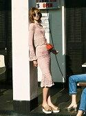 【SALE/45%OFF】snidel マーメイドクロシェスカート スナイデル スカート【RBA_S】【RBA_E】【送料無料】