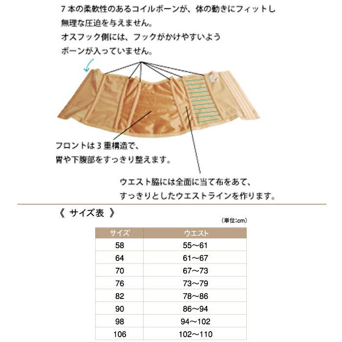 エクラン ウエストニッパー/光電子繊維/光電子 インナー kodenshi