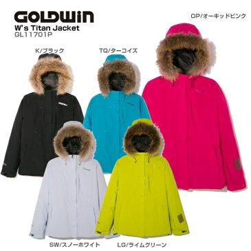 【スーパータイムセール開催中!】GOLDWIN〔ゴールドウィン スキーウェア ジャケット レディース〕<2018>W's Titan Jacket GL11701P【送料無料】【MUJI】 スキー スノーボード【SWER】