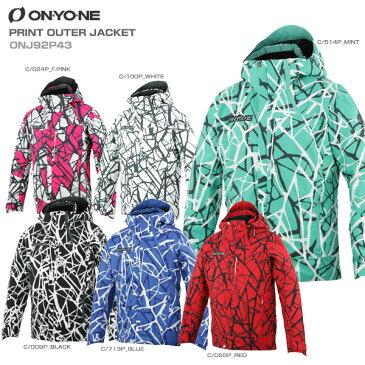 ON・YO・NE オンヨネ スキーウェア ジャケット 2020 PRINT OUTER JACKET プリントアウタージャケット ONJ92P43送料無料 19-20 【X】