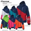 オンヨネ スキーウェア ジャケット ONYONE 20-21 ONJ93400 TEAM OUTER JACKET チームアウタージャケット 20...