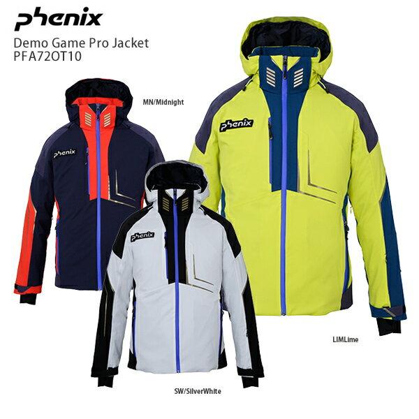 【レビューでリフト券プレゼント】スキー ウェア PHENIX フェニックス ジャケット 2021 PFA72OT10 Demo Game Pro Jacket デモ ゲーム プロ ジャケット 20-21 NEWモデル【hq】画像