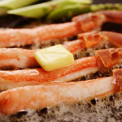 蟹しゃぶポーション1.5kg(ズワイガ二)/かに/カニ/蟹/ずわいがに/ズワイガニ/かにしゃぶ/カニしゃぶ/むき身/ポーション/北国からの贈り物送料無料