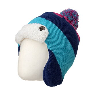 在木犀初中孩子的背刷保暖帽 REA77201 697974 (混合)