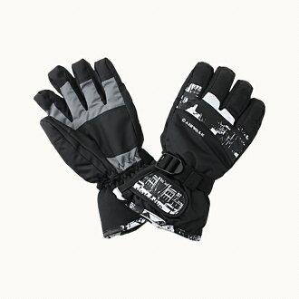 AIRWALK(空氣行走)男子的手套手套AW-6112 BLACK(黑色)AW-6112 black(black)