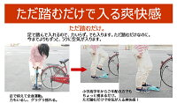 収納革命!自転車空気入れニューシングルフットポンプピンク【クリアケース入り】【RCP】【02P05Apr14M】