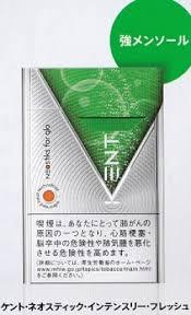 glo グロー 専用 ケント ネオスティック インテンスリー フレッシュ 強烈メンソール460円 10個 +スヌース950円 :3