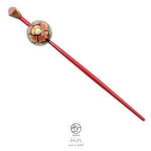 tamago noir rouge noir pivoine sakura jade rétro moderne épingle à cheveux accessoire de cheveux graduation cérémonie Kimono pour visiter kimono Komon Yukata Made in Japan Kimono [pour demain]