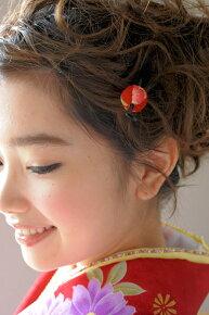 和柄デザイン,着物スタイルのヘアアレンジに,髪飾り