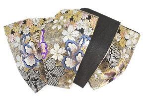 未仕立ての振袖向け正絹袋帯