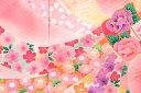 【3/1限定★10%OFFクーポン配付中】初着 ピンク 桜 菊 梅 小花 束ね熨斗 金駒繍 綸子 正絹 産着 うぶぎ 祝着 お宮参り お祝い 女の子 女児 ベビー 日本製 【送料無料】【あす楽対応】 3