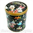 ミッキーマウス&ミニーマウス缶入りチョコレートカバードクッキ...