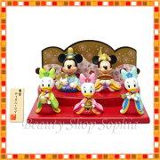 ミッキー フレンズ ひな人形 ディズニー リゾート ひな祭り 桃の節句 デイジー