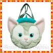 ジェラトーニぬいぐるみトートバッグ顔型トートバッグダッフィーの新しいお友達猫【ディズニーシー限定】Duffyダッフィーシェリーメイグッズぬいぐるみ