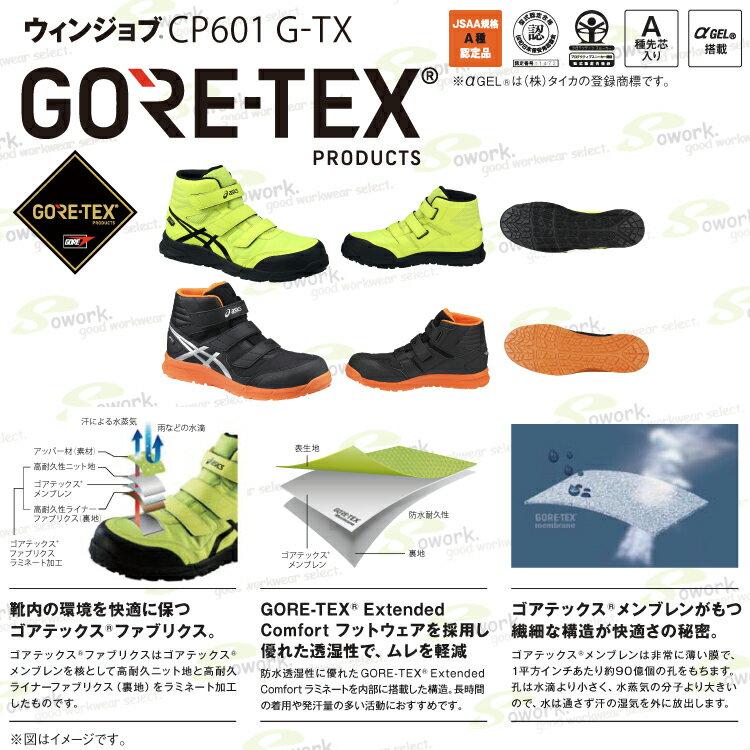 アシックス『ウィンジョブCP601G-TX(FCP601)』