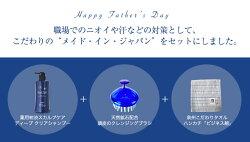 【父の日ギフト特集】お父さん応援ギフトスカルプシャンプーブラシタオルセット)