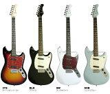 【安心の初期調整済】 Bacchus バッカス BMS-1R ムスタング サイクロン タイプ エレキギター 初心者 入門用 にも! BMS-1 ギター エレキ ユニバース シリーズ