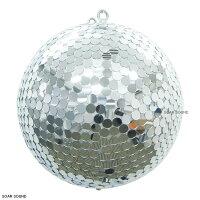 【天井取り付け用モーター付属!】くるくるミラーボールセット直径50cm丸鏡型照明機材舞台照明イベントなどに!