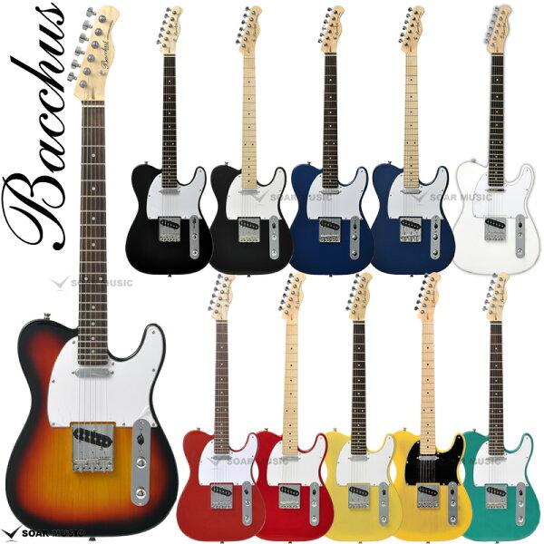 安心の初期調整済 BacchusバッカスBTE-1R/BTE-1Mテレキャスタータイプエレキギター初心者入門用にもギターユニバ