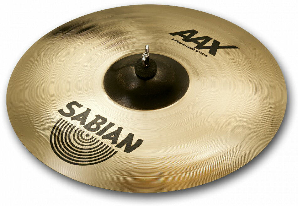 ドラム, ライドシンバル SABIAN AAX X-PLOSION CRASH AAX-16XPC-B 16(41cm) : Medium Thin AAX