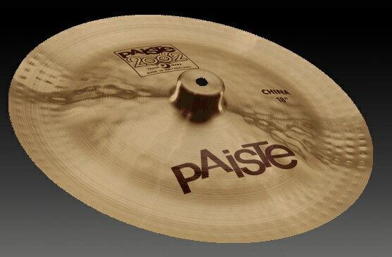 ドラム, クラッシュシンバル  16 Paiste () 2002 : China 16