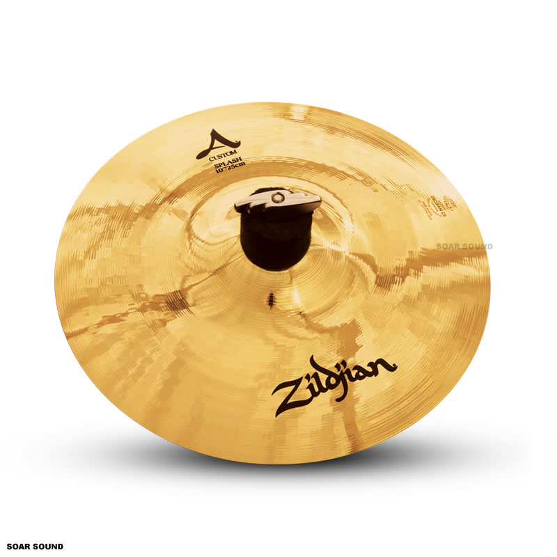 ドラム, クラッシュシンバル  Splash 10 25cm Paper Thin NAZLC10SP Zildjian A Custom