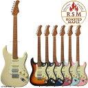 【安心の初期調整済】 Bacchus バッカス BST-2-RSM ROASTED MAPLE ストラト タイプ SSH レイアウト エレキギター ギター エレキ ストラトキャスター BST2 RSM・・・