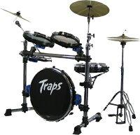 【在庫有り・即納OK!送料無料!】【ポイント5倍!】ポータブルなドラムセット!TrapsDrumsトラップスドラムA400NC