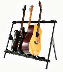【在庫あり・即納OK!】 高品質・丈夫なプロ仕様!ギタースタンド 5本用 Sound Port G550 Guita...