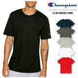 【クリアランスセール!!】チャンピオン Champion クルーネック 半袖 Tシャツ6.1oz Tagless T-Shirt 6.1オンス ティーシャツUネック 無地 CロゴUSAモデル メンズ【正規品】 【DM便発送可(1点のみ)】