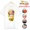 夏物最終 セール イン アンド アウト バーガーIn-N-Out Burger Collector T-Shirtsコレクター プリント 半袖 Tシャツアメカジ イネナウト メンズ レディース ユニセックス【正規品】【ネコポス(1点のみ)】
