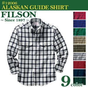 ポイント フィルソン アラスカン チェック コットン