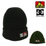 ディーシーシューズDCSHOESベンデイビスBENDAVISコラボニットキャップDC×BDBEANIEビーニーワッチキャップニット帽ブラックメンズレディース(ADYHA03213)