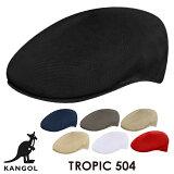 カンゴール KANGOLトロピック キャップ TROPIC 504 ハンチング ハット 帽子 ツバ ブランドロゴ カンガルー メッシュ メンズ レディース ユニセックス 【正規品】【メール便】