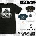 エクストララージXLARGEX-LARGE半袖TシャツプリントカスケードCASCADEOGSSTEEゴリラロゴコットンメンズレディースユニセックス