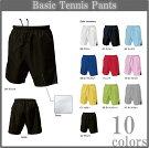 ■激安ベーシックテニスパンツ■チームオーダーユニフォーム■マーキング可■全10色■サイズ130cm〜3L■クラスTシャツ、バレーボールユニフォームにも
