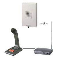 【送料無料】[WT-1150窓口セット]TOA300MHzワイヤレススピーカー・送信機・マイクセット[WT1150-MADO-SET]