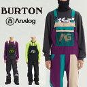 19-20 BURTON ANALOG ICE OUT BIB PANT バートン アナログ アイスアウトビブパンツ 購入特典有 即出荷 一部予約