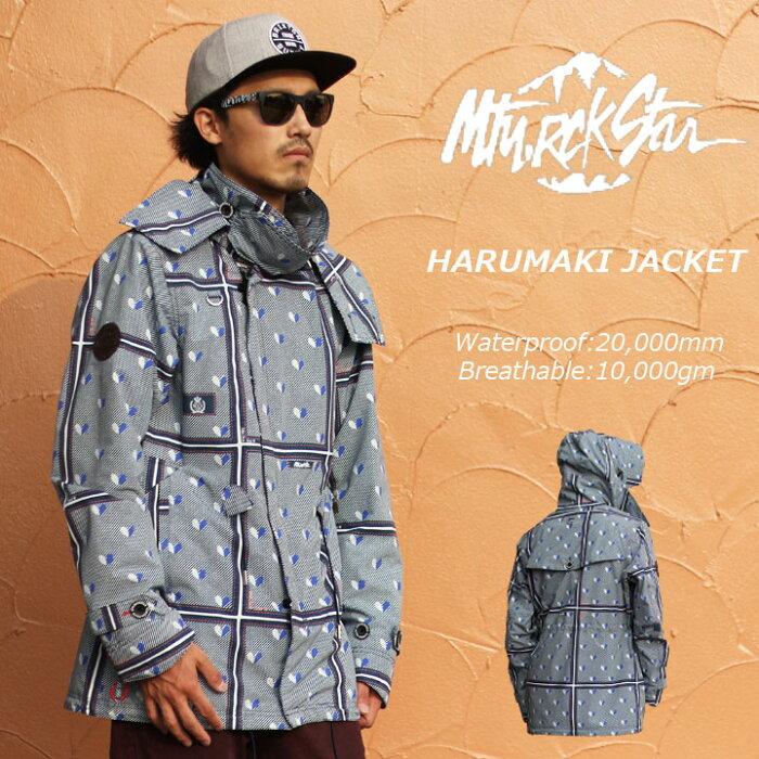 MTN.ROCKSTAR マウンテンロックスター HARUMAKI JACKET ハルマキジャケット 30%OFF