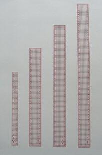 方眼定規デラックス50cm(500x50x1.2mm)
