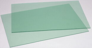 ビニ板(グリーン透明)カッティングマット900x1350x6mm