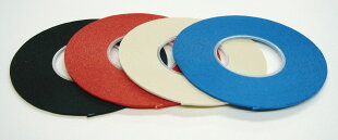 ボディラインテープBody-LineTapeICテープ巾1.0mm/16m巻黒・赤・白・青