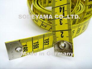 ヘキストマスhoechstmassテイラーメジャー200cm19mm巾